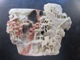 Chinese soapstone vase