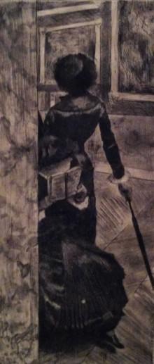 Mary Cassatt at Louvre