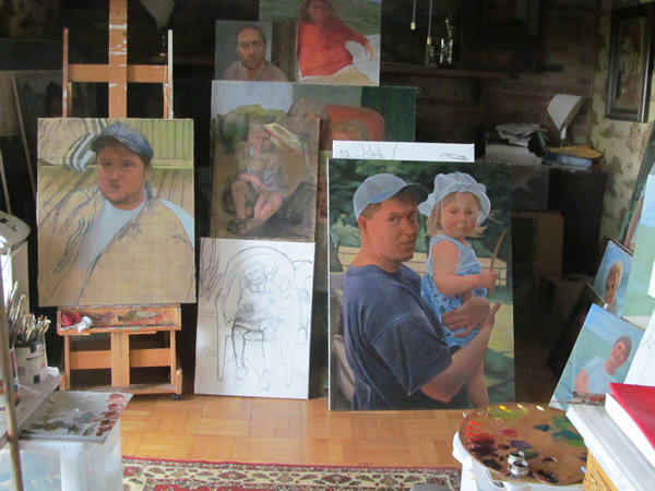 On the Easel 12.16.12