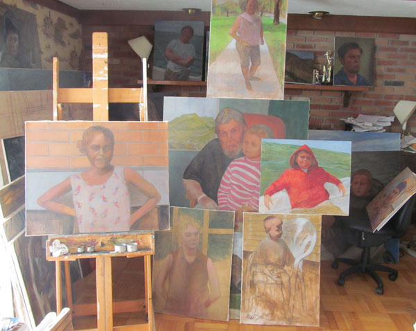 On the Easel 1-27-13