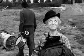 Scene from Fellini's La Strada