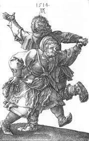 Peasants Dancing by Durer
