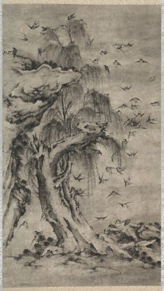 One Hundred Birds by unknown Korean artist