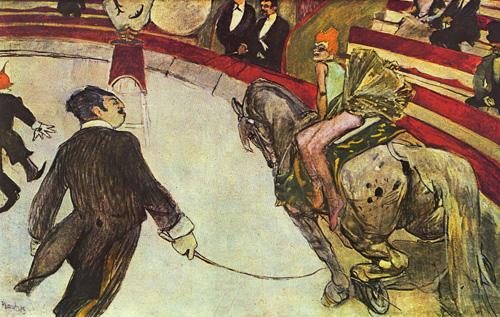 Toulouse-Lautrec's Equestrienne (At the Cirque Fernando)