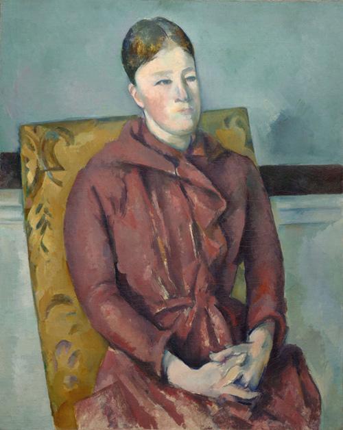 Cezanne's Madam Cezanne in a Yellow Chair