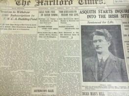 Newspaper Article, 1916