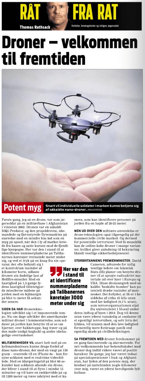 Droner fuld