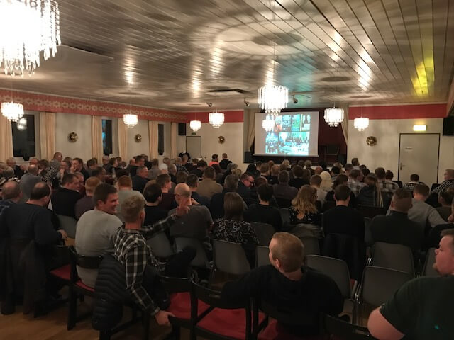 Hyggelig og god foredragsaften i det vestjyske