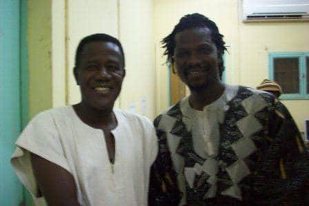 Abdul Salam Kaboré et Sams'K Le Jah