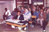 Kyelem Joachimson Appolinaire de Tembela presente sa these en 1987 a Nice