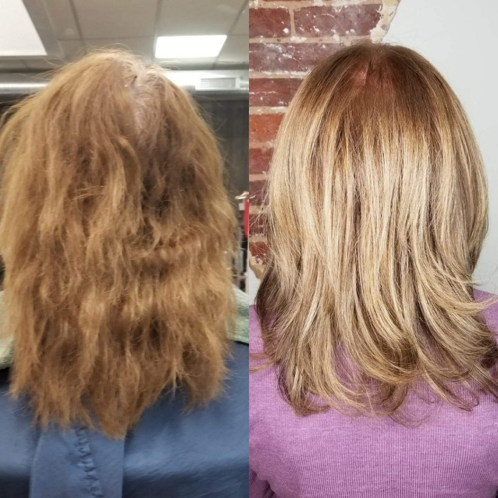 Thomas Shelton Stylist Scott's Client Before and After