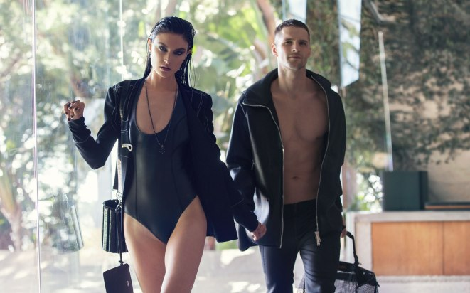 JACQUELYN JABLONSKI & TOMAS SKOLOUDIK FOR ELLE US BY DAVID BELLEMRE