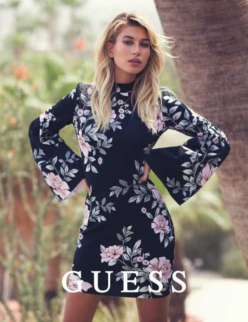 Guess Jeans Holiday 2016 Photography by DAVID BELLEMERE with Hailey Baldwin