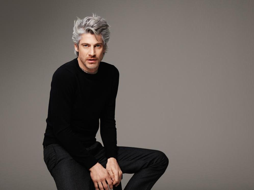RALPH MECKE shoots monochromatic shades of grey campaign for the exclusive hair brand GOLDWELL