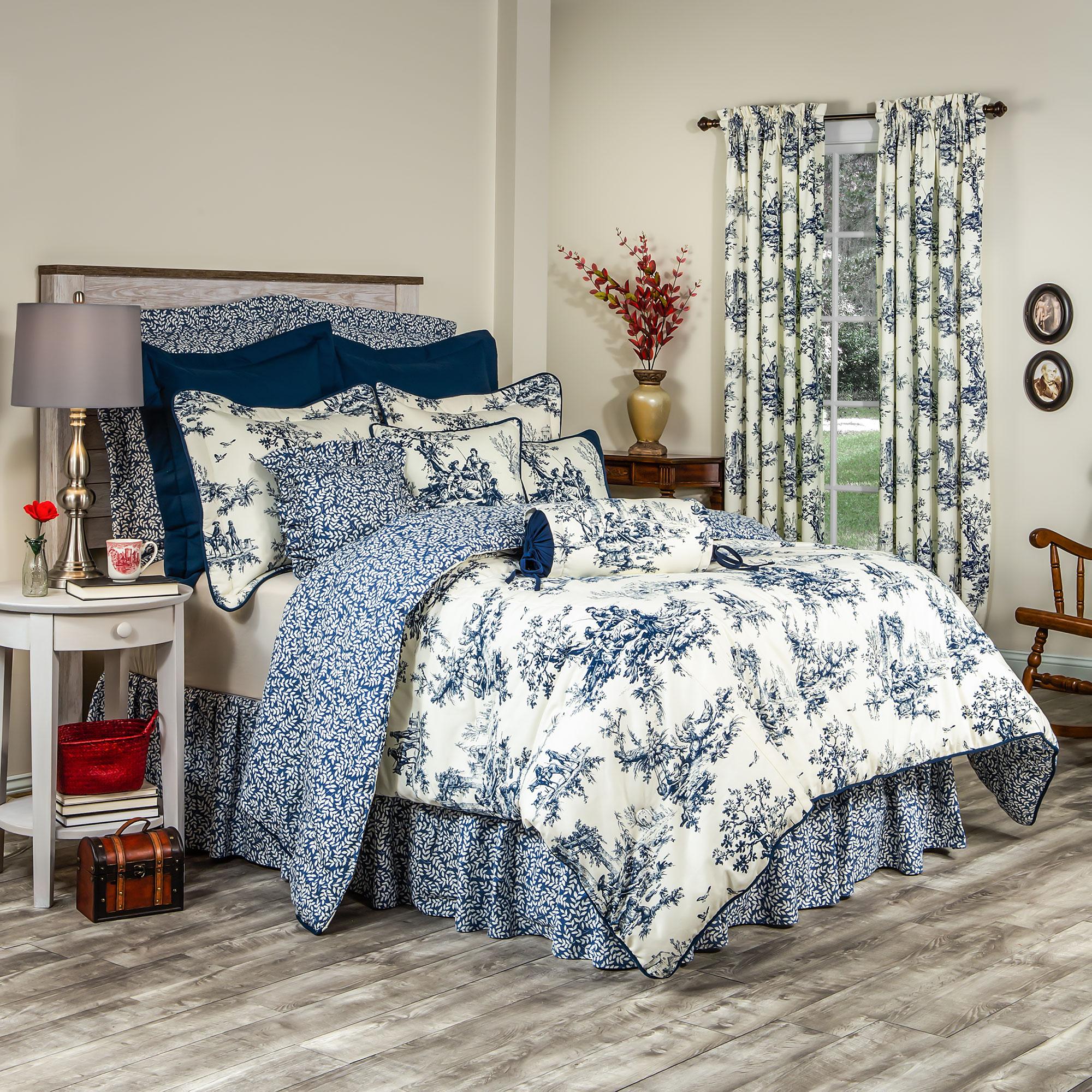 bouvier blue comforter sets