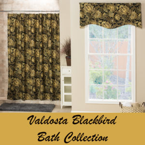 shower curtains and matching valances