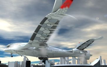 Les extrémités des ailes du Progress Eagle auront un design bien particulier Elles s'inspirent de l'extrémité des ailes des oiseaux, et notamment des aigles.