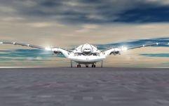 Vue de face Photo : Oscar Viñals / AWWA - Quantum Airplaine
