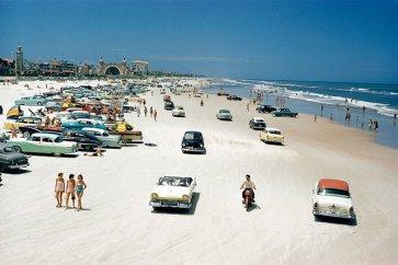 Daytona Beach, en Floride, en 1957
