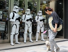 JAPAN-US-ENTERTAINMENT-STAR WARS