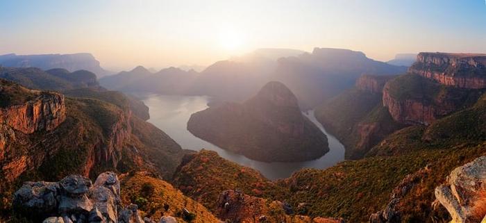 Le Canyon de la rivière Blyde en Afrique du Sud possède une très riche biodiversité ! À voir absolument !