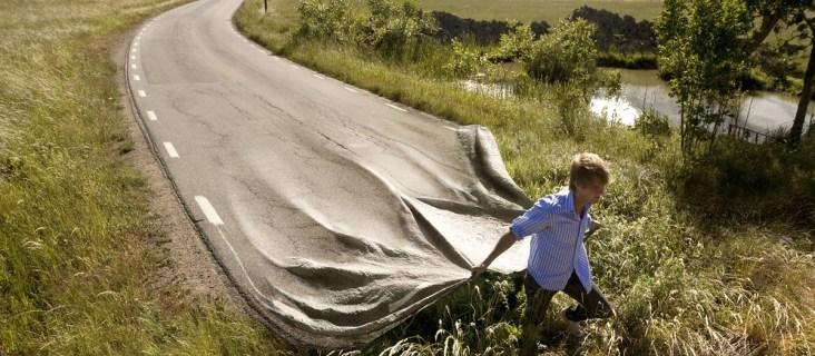 La fin de cette route est un petit peu brutale !