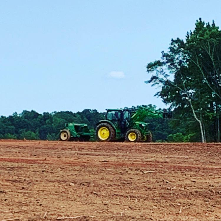 Seeding and mulching can be both temporary and permanent types of erosion control. Not only does it protect the soil from erosion...it looks good too!