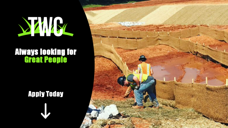 Join the team and be a valued member of a growing company. Thomas Wilson Contracting offers exciting careers in Erosion Control.