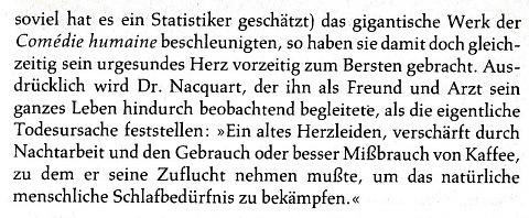 Der Schreibprozess des Balzac