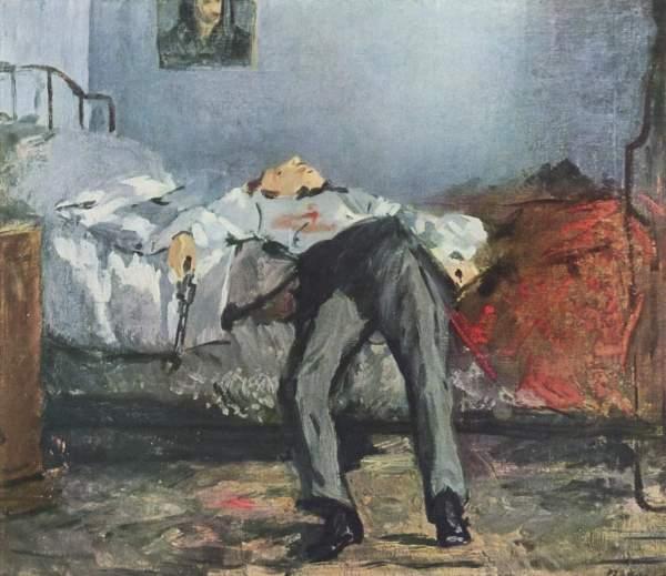 Edouard Manet: Le Suicidé