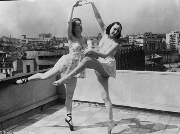 Tanzen über den Dächern der Stadt, Signatur: W 134 aus Karton 1223 ohne Signatur VIII, http://www.landesarchiv-bw.de/plink/?f=5-91895