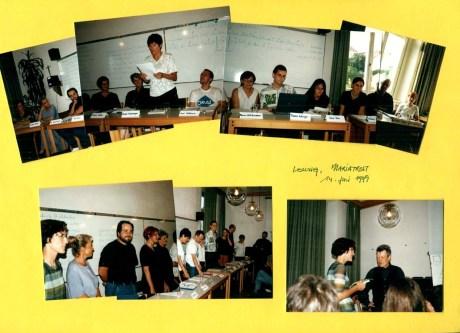 Schutting Schreibwerkstatt - Abschlusslesung 1999