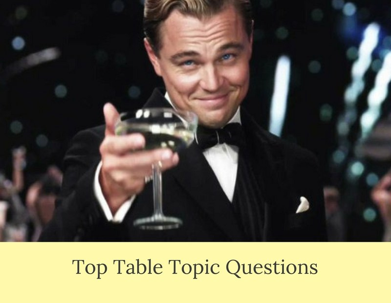 My Favorite Table Topics Question For Toastmasters Meeting