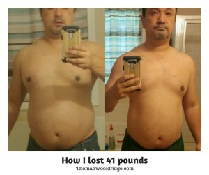losing 41 pounds -My weight loss journey