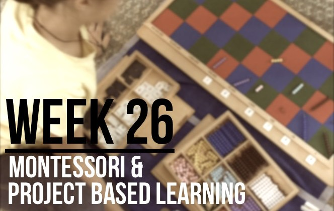 Week 26 – Observing Montessori Style & Project-Based Learning