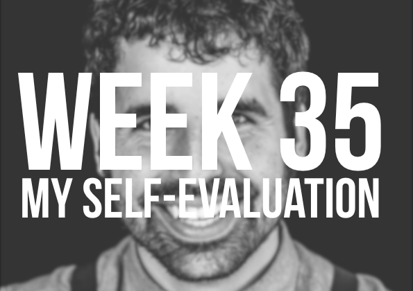 Week 35 – My Teacher Self Evaluation & End of Year Review Idea