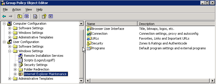 The new way to configure Internet Explorer proxy settings with Group Policy (1/3)