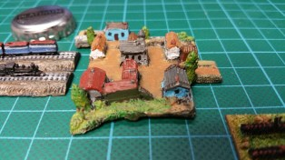 The village - well there are quite a few more of these pieces to go