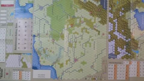 Great War in Europe maps