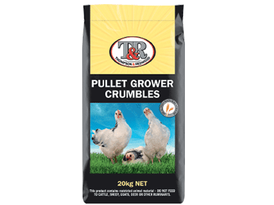 Thompson and Redwood Pullet Grower Crumbles