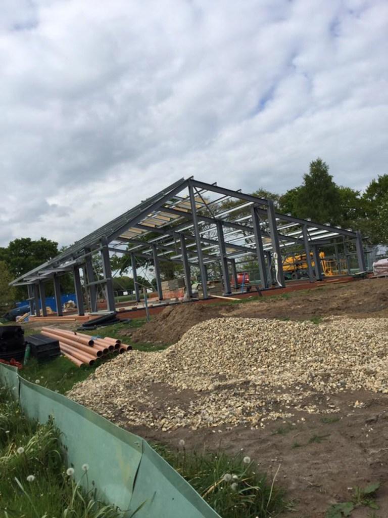 Thompson Community Hall progress-12