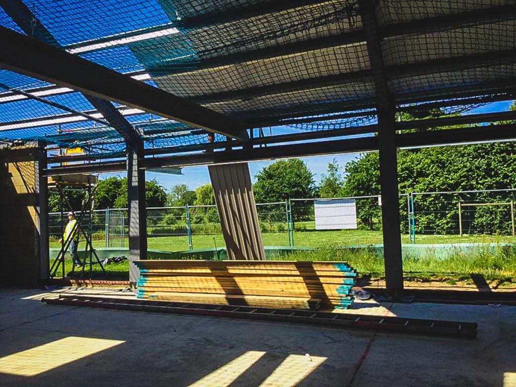 Thompson Community Hall progress-25
