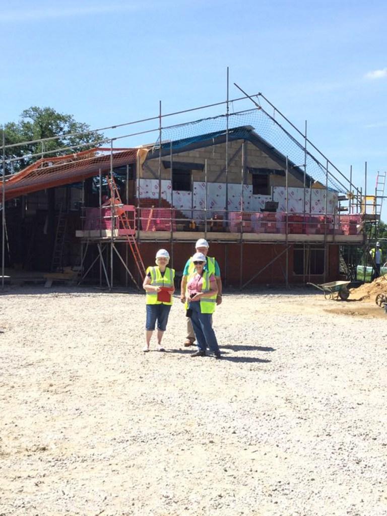 Thompson Community Hall progress-26