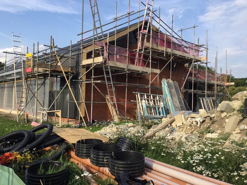 Thompson Community Hall progress-32