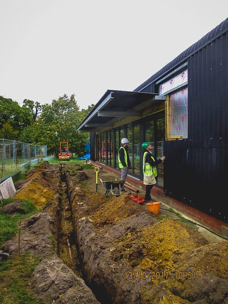 Thompson Community Hall progress-35