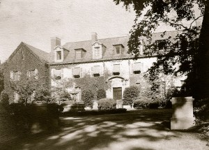 Alder Manor as it looked back in the day