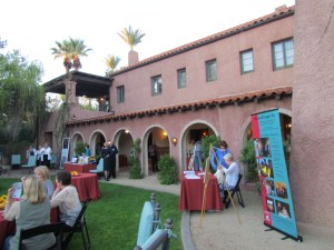 Arizona's Historical League held an October event at Rancho Joaquina