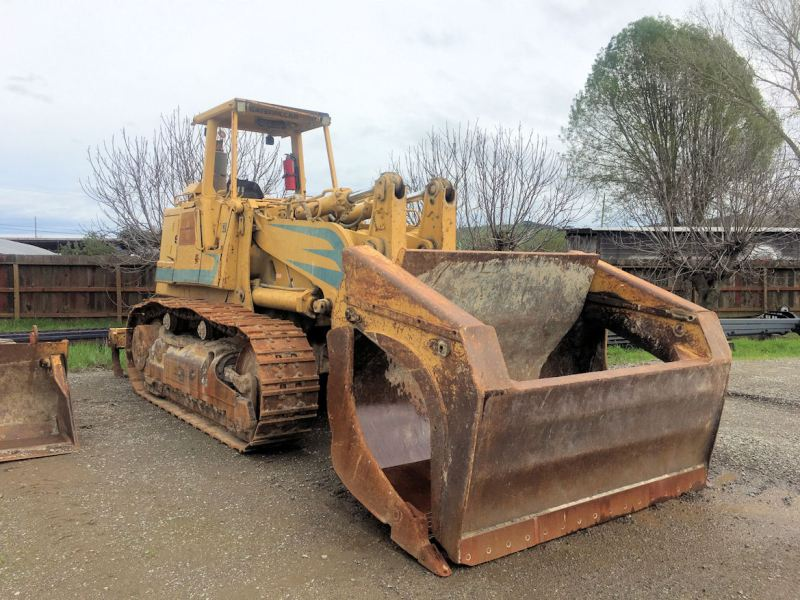 1988 Caterpillar 973 Right Front