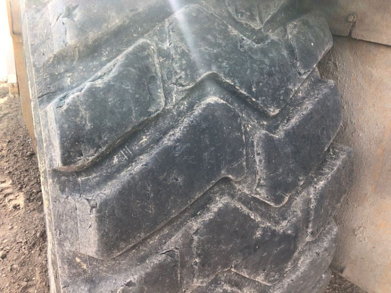 2012 Caterpillar 627H Left Rear Tire