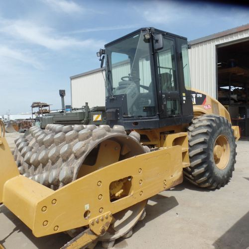 2012-Caterpillar CP56 Left Front
